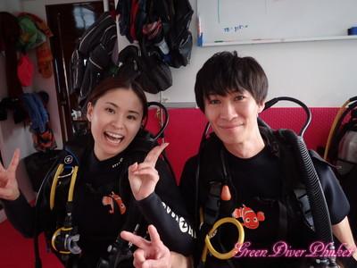 2019年11月1日 プーケット ラチャノイ島ラチャヤイ島 体験ダイビング