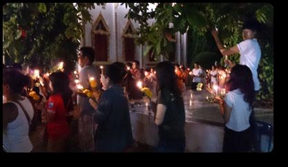 プーケットの仏教行事 ヴィサカブーチャ Wat Ladthiwanaram