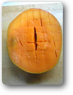 日本のマンゴーの花切り2