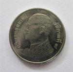 タイ硬貨 1バーツ