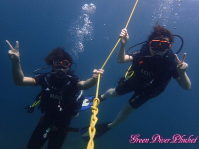 2020年2月4日 ラチャノイ島ラチャヤイ島3ダイブ 体験ダイビング