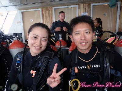 2020年2月10日 ピピ島シャークポイント3ダイブ ファンダイビング