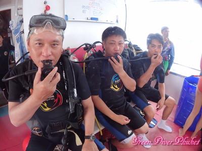 2020年8月15日 プーケット ラチャノイ島 ラチャヤイ島 ファンダイビング 体験ダイビング