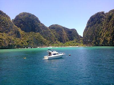 ピピ島 マヤベイ