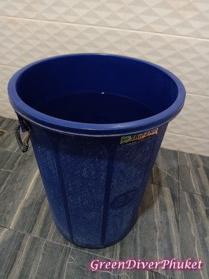 プーケットの水桶