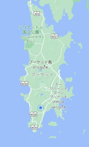 プーケット 地図